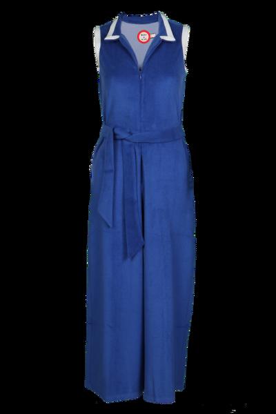 Image of Blå frotté jumpsuit Haldis