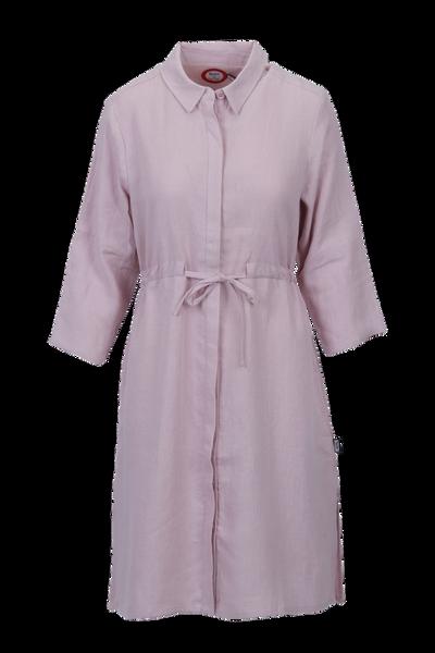 Image of Samanta pink linnen dress
