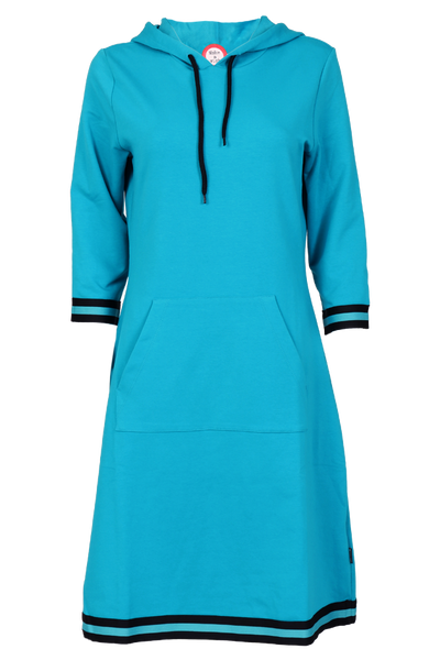 Image of Dagny Sporty turquoise dress