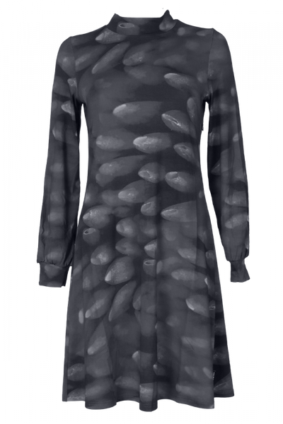 Image of Dahlia Dress D27 grey