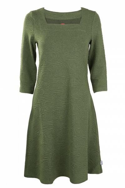 Image of Vibeke Olivengreen dress