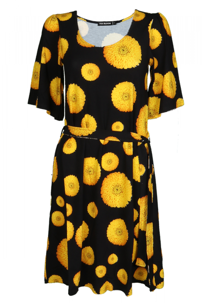 Image of Dahlia D54 Yellow dress