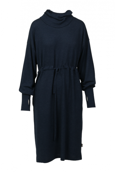 Image of Miriam soft hoodiedress blue