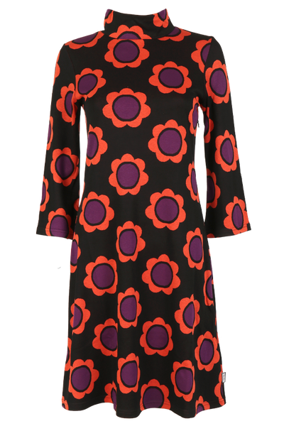 Image of Gudrun black orange purple