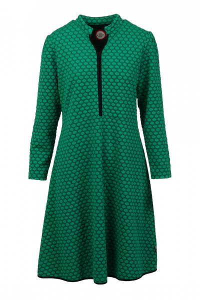 Image of Kate green elegant dress