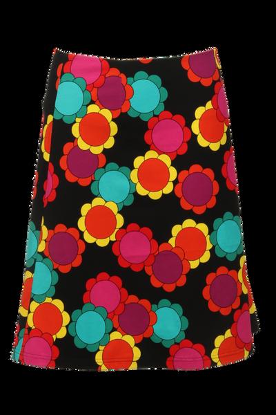 Image of Kati multicolor skirt flower