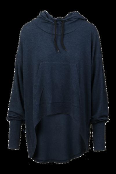 Image of Inger loose hoodie blue