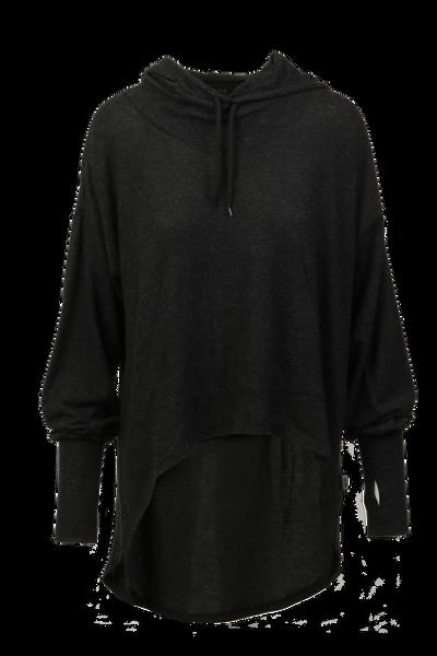 Image of Inger loose hoodie blackgrey
