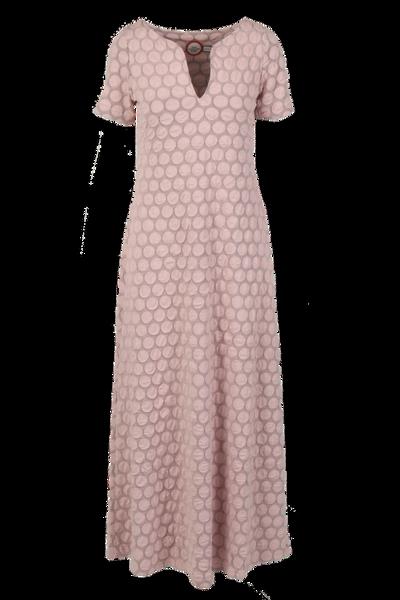 Image of Ba dusty rose maxidress
