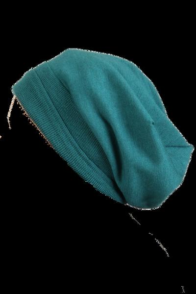 Image of Liz Baggy petrol hat i 100%
