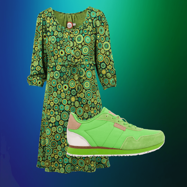 Image of Frida green shop the look
