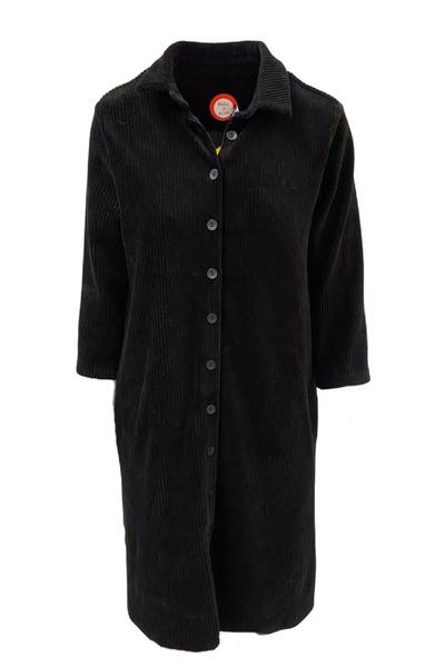 Image of Katinka black velvet dress