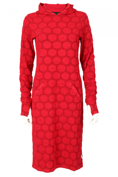 Image of Mona red dress