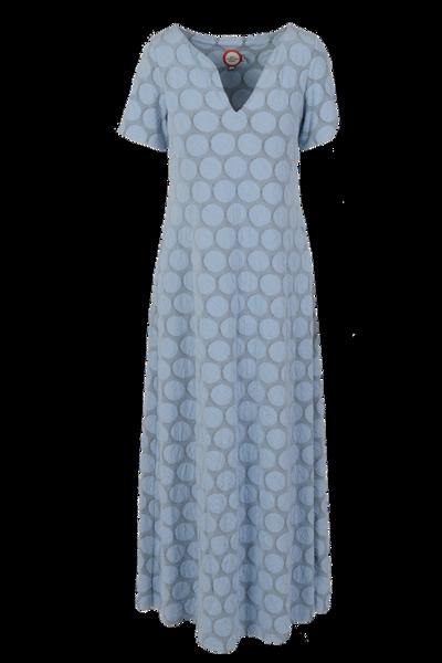 Image of Ba light blue maxidress