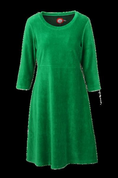 Image of Elli dress babycord green