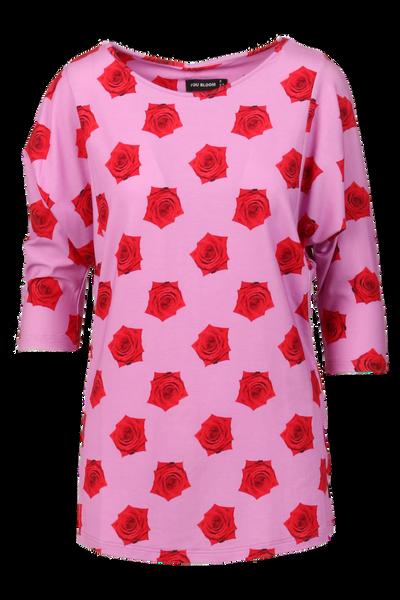 Image of Red rose Sweatter Design 8