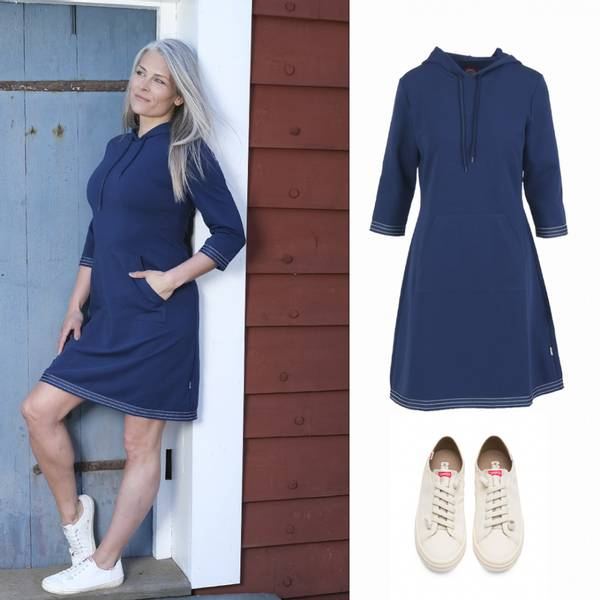 Image of OUTFIT Dagny blue dress +