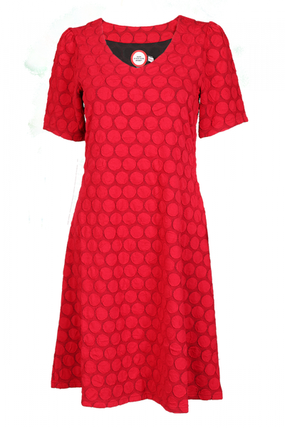 Image of Sanne Red dress