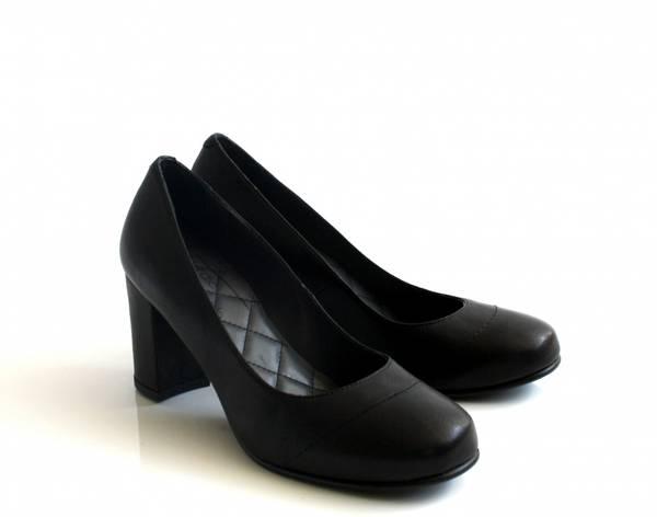 Image of Elegant black pump Liva 23