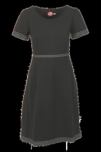 Image of Pauline Black and white dress
