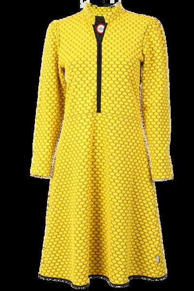Image of Kate yellow elegant dress