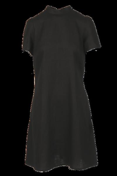 Image of Ulrikke black linnen dress