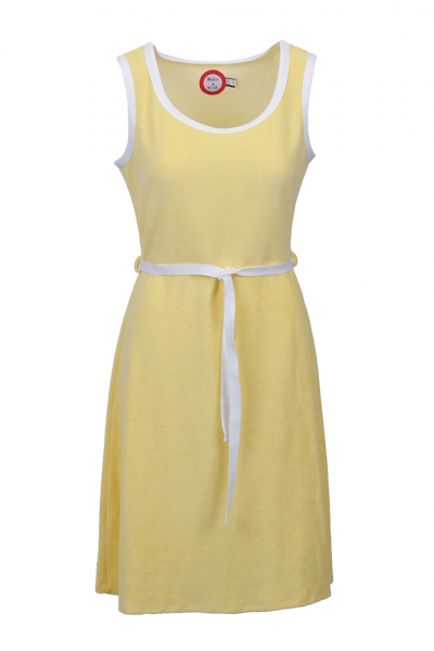 Image of Agnes light yellow and white