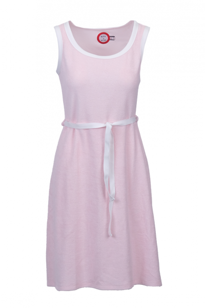Image of Agnes light pink and white