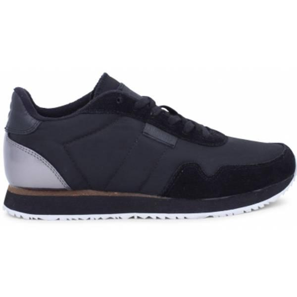 Image of NORA II black woden sneakers