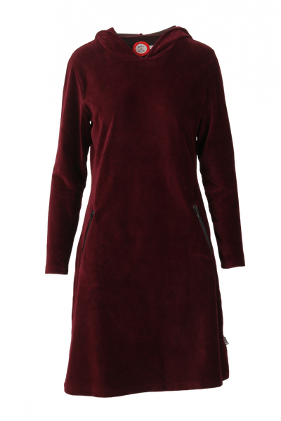 Image of Gro bordeaux sporty hooded