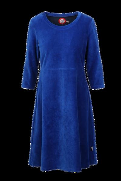 Image of Elli dress babycord blue