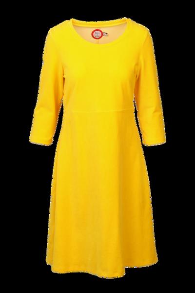 Image of Elli dress babycord yellow