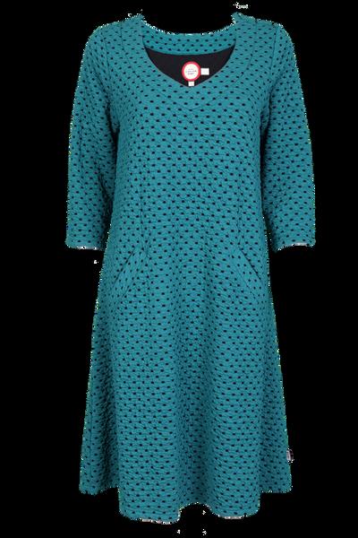 Image of Melinda ocean green dress