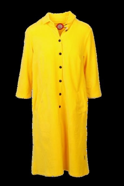 Image of Silje yellow shirt dress