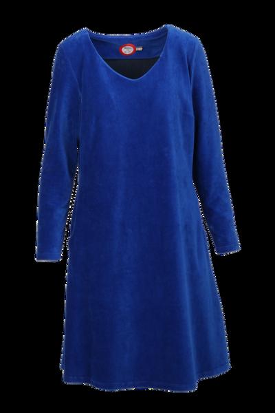 Image of Madison dress babycord blue