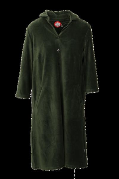 Image of Silje combo green shirt dress