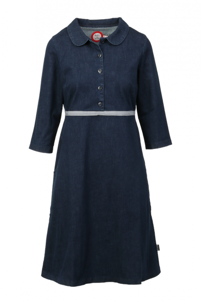 Image of Viola Jeansdress blue and