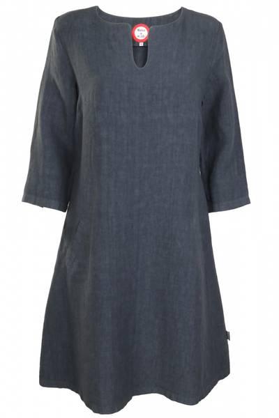 Image of Hera Grey linnen dress