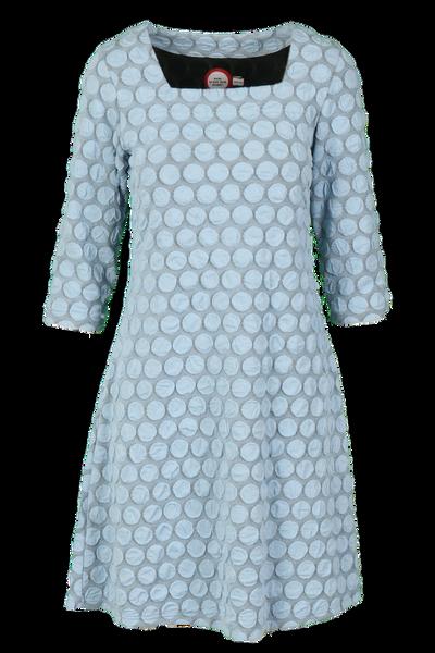Image of Torun light blue dress
