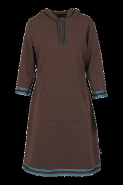 Image of Dagny Sporty brown dress