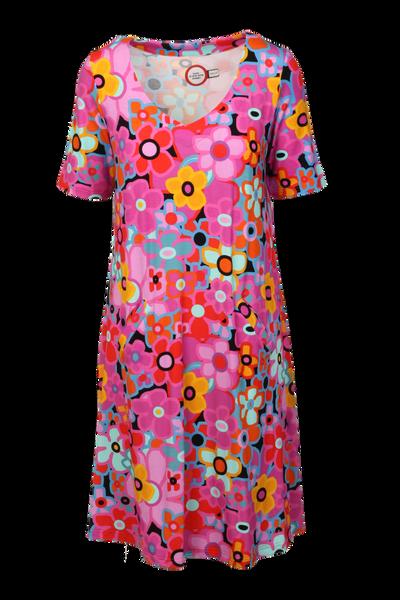 Bilde av Sina multicolor klänning