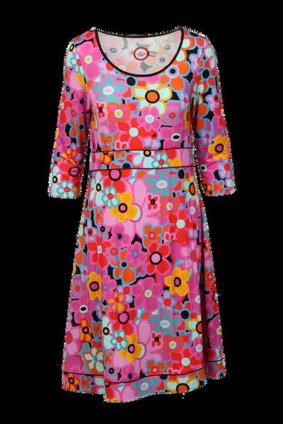 Image of Petrine multicolor dress
