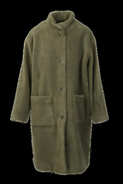 Image of Urszula coat olive green