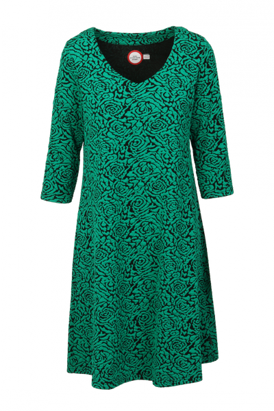 Image of Helmine green dress