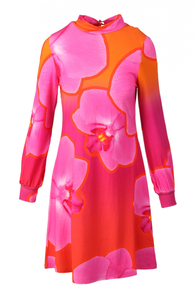 Image of Pink orchide Dress D27