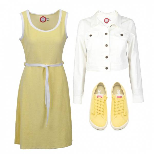 Image of Outfit Agnes yellow