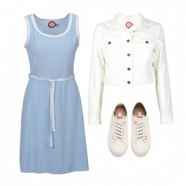 Image of Outfit Agnes blue