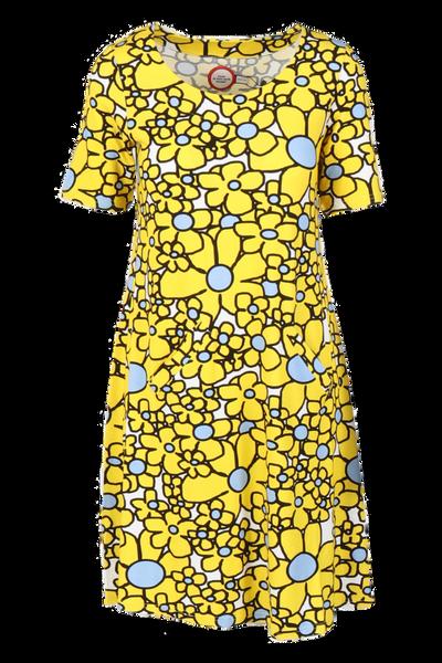 Image of Gina yellow dress