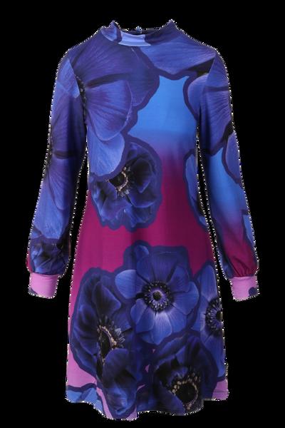 Image of Blue Anemone Dress D27