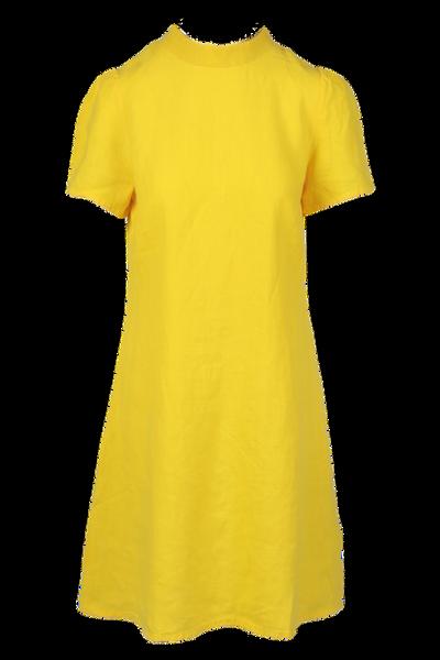Image of Ulrikke yellow linnen dress